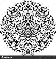 Mandala Kleurplaten Voor Volwassenen Cijfers Norskiinfo