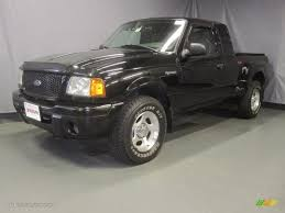 2002 Black Clearcoat Ford Ranger Edge SuperCab 4x4 #33189296 ...