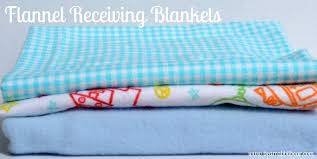 easy baby receiving blanket tutorial