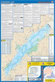 Cherokee Lake Fishing Map