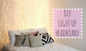 Tulle Canopy Diy Diy Light Up Headboard Affordable Room Decor Youtube