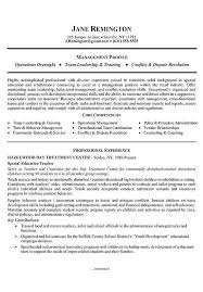 Manager Career Change Resume Example Resume examples and Sample - career  focus examples