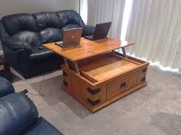 coffee table designs diy. DIY Coffee Table With Extending Laptop-Holding Top Designs Diy C
