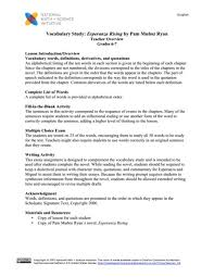 awesome collection of esperanza rising worksheets awesome collection of esperanza rising worksheets proposal