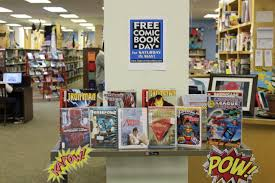 comic book display. Fine Comic Every First Saturday In May Comic Book Stores Throughout The World  Participate Free Comic Book Day And LCOPL Along With All Other First  Intended Display