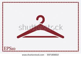 Symbol Coat Rack Enchanting Coat Rack Symbol Hanger Icon Vector Stock Vector 32