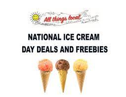 National Ice Cream Day Deals and Freebies