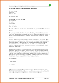 how to write letter to editor examples how to write a letter to the editor examples