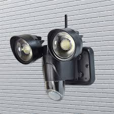 new hot hd 720p wifi ip pir motion activated outdoor light support 30m