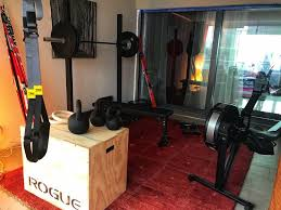 gear ping list for a garage gym