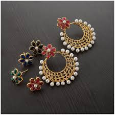 Artificial Jhumka Designs With Price Earrings Online Upto 80 Off On Designer Earrings Jhumka