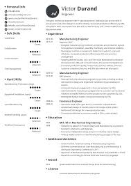 Sample Resume For An Entry Levell Engineer Monster Com Fresher