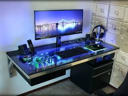 incredible unique desk design. Best Cool Computer Desks Ideas On Gaming Desk Ikea Unique Interior Design Incredible 2 . 1