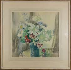 Marcella Smith RBA, RI (1887-1963) - Mid 20th Century Watercolour, Lilies |  eBay