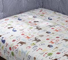 abc crib sheets