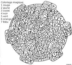 Coloriage Magique 122 Dessin