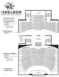 Six Flags St Louis Concert Seating Chart The Sheldon Seating Chart