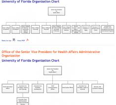 Uf Health Chart Login Organizational Chart Academic Health Center Office Of