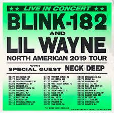 Blink 182 Lil Wayne Tickets 20th July Veterans United