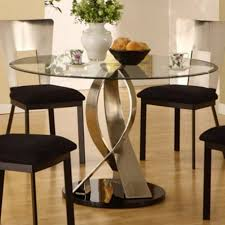 dining room round room table sets simple white brown coffee cup ideas black leather cushions