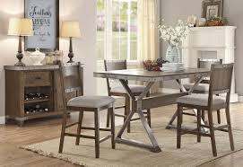 Industrial Counter Height Dining Table Industrial Style Counter Height Table Set