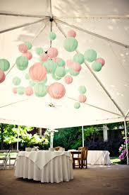 Pastel Colored Paper Lanterns L L