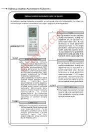 Gree GS18-0931/R2 DUVAR TİPİ SPLİT KLİMA Klima - Kullanma Kılavuzu -  Sayfa:11 - ekilavuz.com