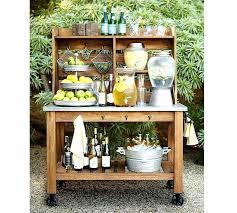 outdoor bar carts wicker serving cart wicker patio serving cart garden serving cart outdoor liquor cart