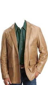 home men leather blazers rugged mens leather blazer