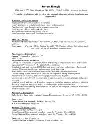 Sample Resume For Telecom Engineer It Sales Engineer Resume Example