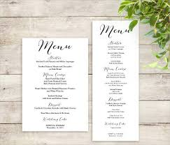 blank menu template free download free printable menu templates blank menu templates free