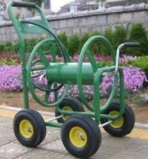garden hose reel cart. Image Is Loading Garden-Hose-Reel-Cart-Trolley-Powder-Coated-Steel- Garden Hose Reel Cart