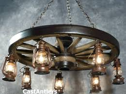 decor exciting shapes wagon wheel chandelier for home lighting light fixture