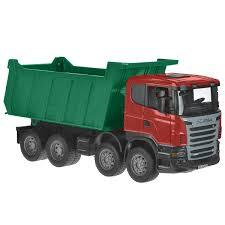 <b>Bruder Самосвал</b> Scania цвет зеленый красный — купить в ...