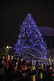 The 86 West Group's Guide to the Best Holiday Light Displays in West  Michigan  Tree Rosa Parks Circle