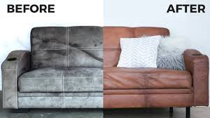 Image Oversized Diy Leather Couch How To Paint On Microfiber Secret Fabric Paint Recipe Soft Youtube Diy Leather Couch How To Paint On Microfiber Secret Fabric Paint