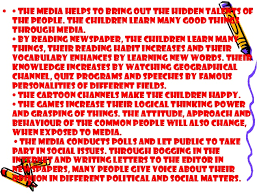 influence of media on society ppt 9