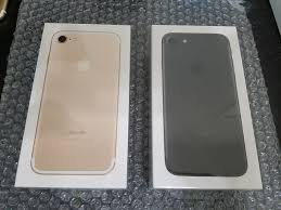 iphone 7 gold box. brand new sealed in box apple iphone 7 32gb t-mobile only gold black clean iphone o