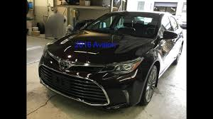 2016 Toyota Avalon front bumper removal - YouTube