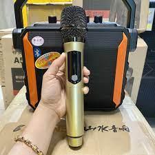 TẶNG 1 MIC KHÔNG DÂY ] Loa karaoke mini Temeisheng A528 , loa trợ giảng,  kết nối bluetooth hát karaoke chính hãng 1,500,000đ