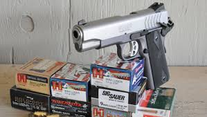 shooting the ruger sr1911 lw 9mm