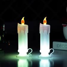 Small Picture Long Pillar Christmas Led Electronics Candle Lamp Candela