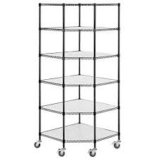 Plastic Coated Wire Racks Shelves Fantastic Space Tier Adjustable Wire Shelving Heavy Duty 52