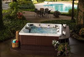 choosing the right outdoor hot tub backyard ideas for tubs and swim spas outdoor hot tub h85