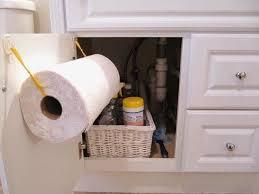 DIY Paper Towel Holder Use Command Hooks And Burlap Ribbon Delectable Bathroom Towel Dispenser Concept