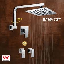 image is loading 8 10 12 034 suqare rain shower head