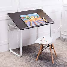 Attractive Emall Life Computer Desk Simple Stylish, Height Adjustable (72 96cm)  Tabletop