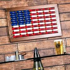 flag two tone wood wall art american  on american flag wall art wood and metal with american flag wood wall art chastaintavern