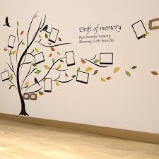 photo frame family tree wall stickers home decor wall decals decor simple ideas