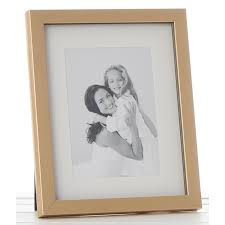metallic gold mount photo frame